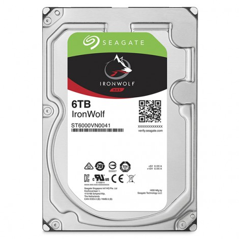 HDD 6TB Seagate Ironwolf ST6000VN0033