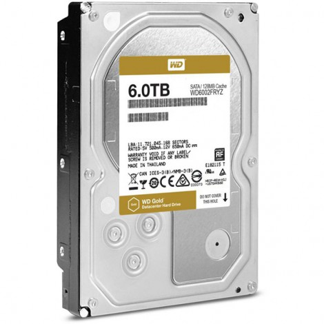 HDD 6TB WD6002FRYZ (Gold)