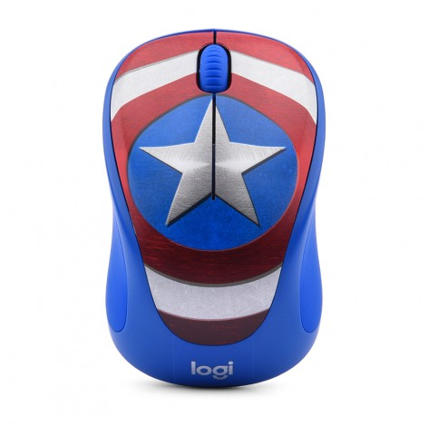 Mouse Logitech M238 Marvel Captain America