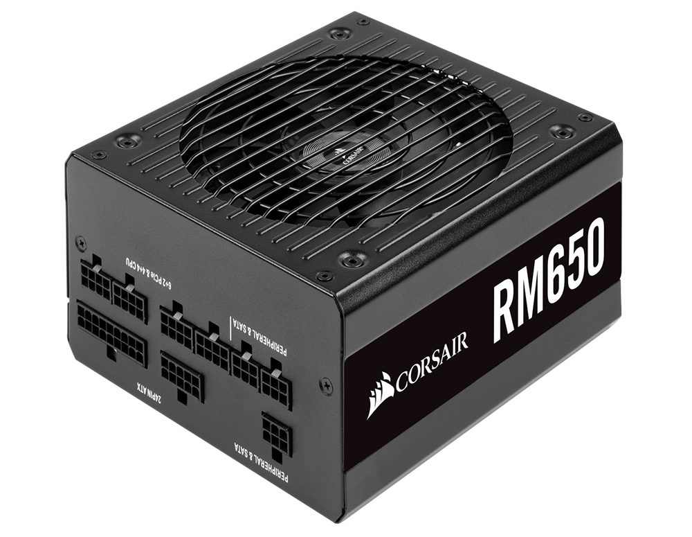 Power Corsair RM650 v2019