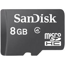 Card Micro SDHC 8GB Sandisk