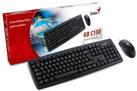 KB + MOUSE  GENIUS  C100