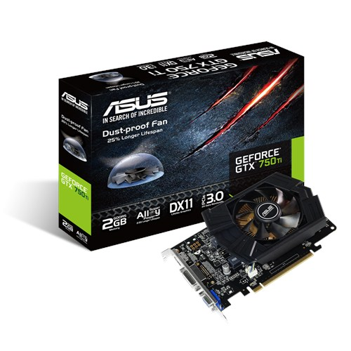 VGA ASUS 2GB GTX750Ti PH- 2GD5