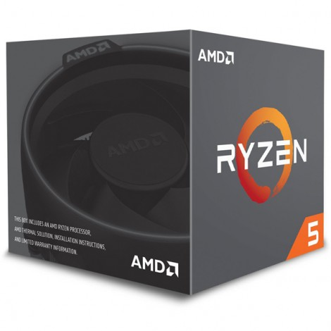 CPU AMD Ryzen 5 2600X (3.6GHz - 4.2GHz)