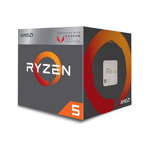 CPU AMD Ryzen 3 2200G (3.5GHz - 3.7GHz)