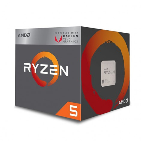 CPU AMD Ryzen 5 2400G (3.6GHz - 3.9GHz)