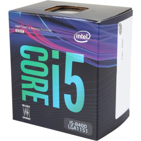 CPU INTEL CORE i5 8400 2.8Ghz (Upto 4.0Ghz) 9MB