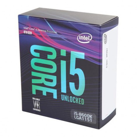 CPU Intel Core I5-8600K (3.6GHz)