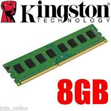 RAM KINGSTON 8GB DDR3 1600 KVR16N11/8