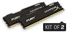 RAM KINGSTON 8GB DDR4 2400 (2x 4GB)