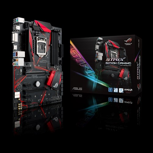 MAINBOARD ASUS STRIX B250H - GAMING