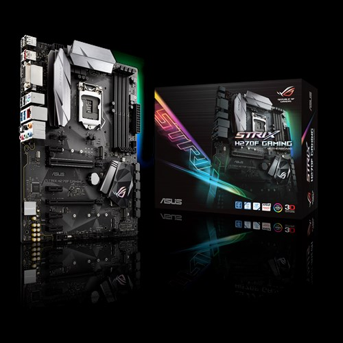 MAINBOARD ASUS STRIX H270F - GAMING