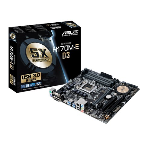 MAINBOARD ASUS H170M- E D3