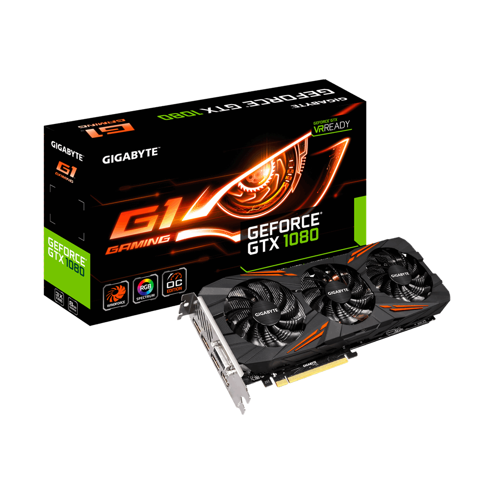 VGA GIGABYTE 8GB N1080G1 GAMING- 8GD