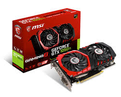 VGA MSI 4GB GTX1050Ti GAMING X