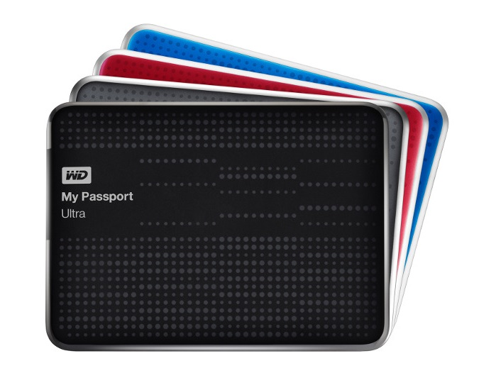 "HDD WD 500GB PASSPORT ULTRA 2.5"" USB3.0"