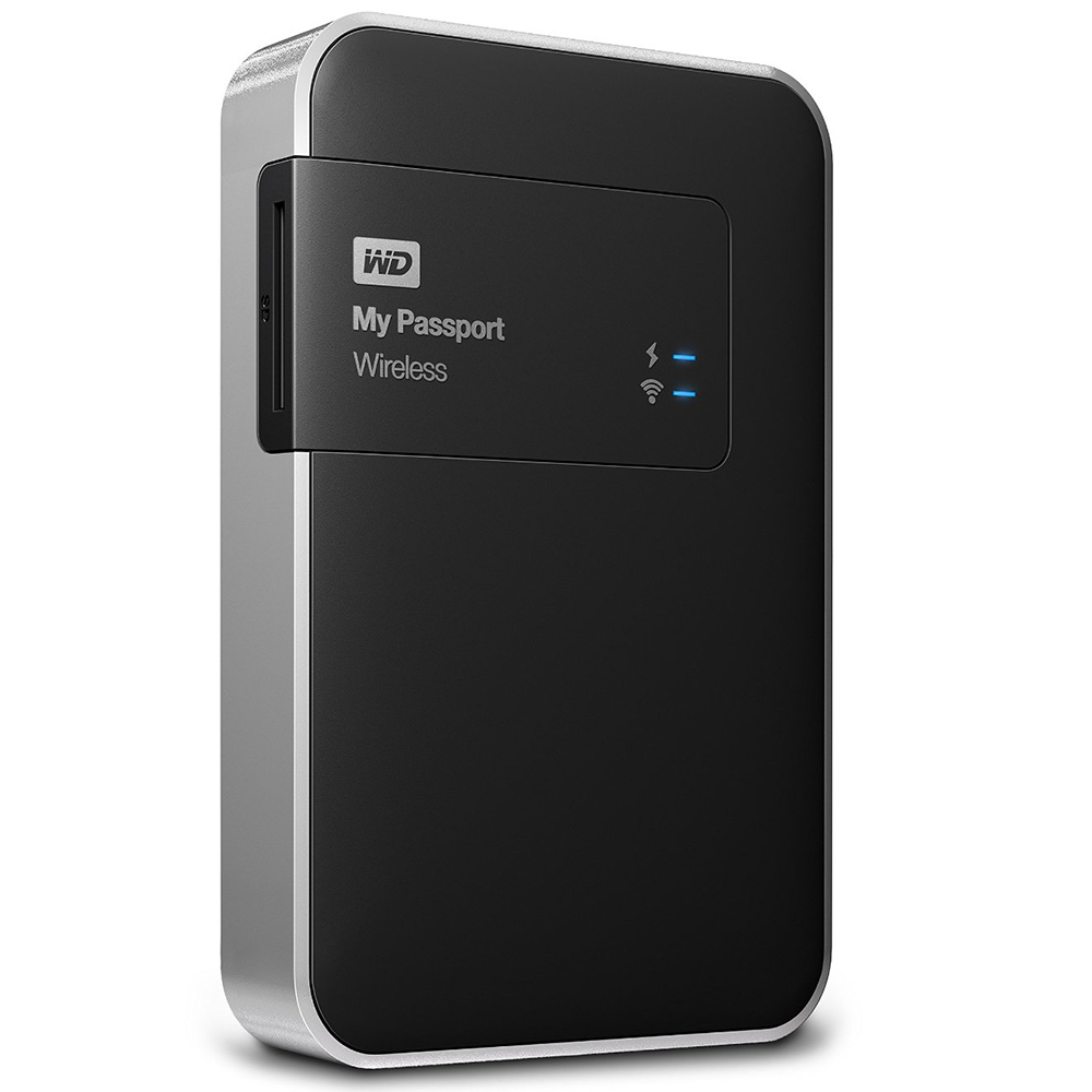 HDD WD 1TB MY PASSPORT WIRELESS USB3.0 2.5""
